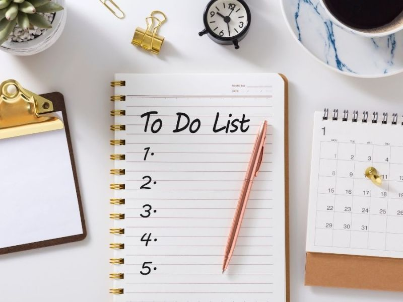 5 Tips For Getting Things Done